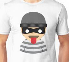 Thief Emoji Tongue Out Unisex T-Shirt