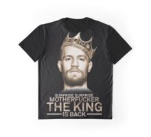 McGregor - King is back Graphic T-Shirt