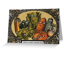 Veggie Day Greeting Card