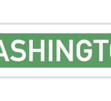 Washington G Sticker