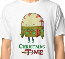 Christmas Peppermint Butler - Adventure Time Classic T-Shirt