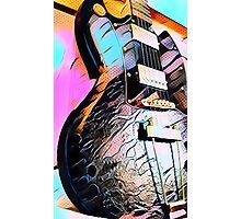 Gibson SG Art Photographic Print