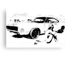 Pitstop by Max Heyshh for Pranatheory 2014 Canvas Print