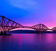 The Forth Bridge's by klrkphotography