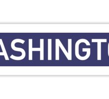 Washington B Sticker