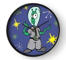 Alien Astronaut  Clock