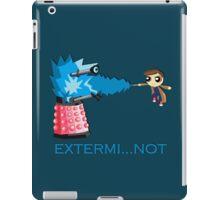 Extermi-not Powerpuff Tenth Doctor iPad Case/Skin