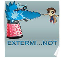Extermi-not Powerpuff Tenth Doctor Poster