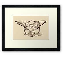 Mystical Owl Framed Print