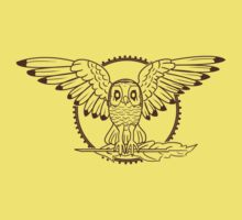 Mystical Owl Kids Clothes