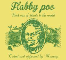 Flabby poo green Kids Tee