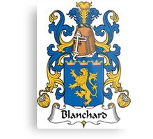 Blanchard Coat of Arms (French) Metal Print