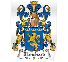 Blanchard Coat of Arms (French) Poster
