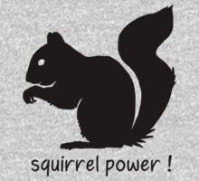 Squirrel Power! Kids Clothes