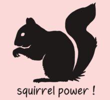 Squirrel Power! Kids Tee