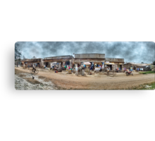 Uganda: We Call Them Strip Malls Canvas Print