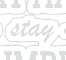 Play Hard stay Humble Sticker
