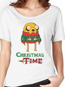 Christmas Jake - Adventure Time Women's Relaxed Fit T-Shirt