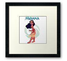 princes moana Framed Print