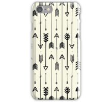 Hipster black arrows iPhone Case/Skin