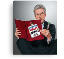 12th Doctor Canvas Print