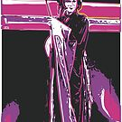 geisha lithograph by Mark Malinowski