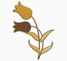 Golden tulips Kids Tee