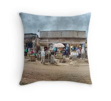 Uganda: We Call Them Strip Malls Throw Pillow