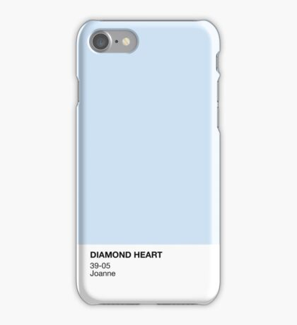 Diamond Heart iPhone Case/Skin