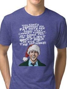 Griswold alternative Christmas card Tri-blend T-Shirt