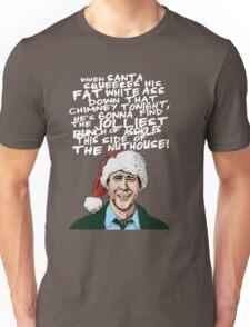 Griswold alternative Christmas card Unisex T-Shirt
