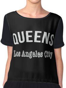 Queens Los Angeles City Chiffon Top