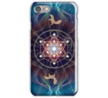 Metatron's Cube - Merkabah - Peace and Balance iPhone Case/Skin