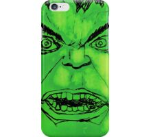 'I'm always angry' iPhone Case/Skin