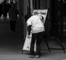 New York Street Photography 26 Sticker