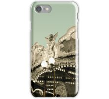 Vintage carousel ride iPhone Case/Skin
