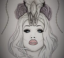 Sharon Needles Drawing by dripwhite