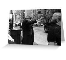 New York Street Photography 27 Greeting Card