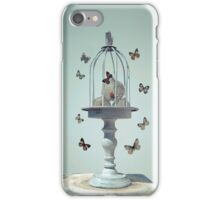 Letting my dreams escape unharmed iPhone Case/Skin