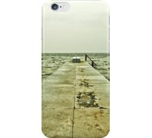 The rough north sea iPhone Case/Skin