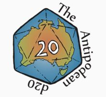 The Antipodean d20 One Piece - Short Sleeve