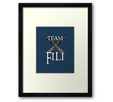 Team Fili Framed Print