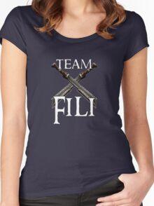 Team Fili Women's Fitted Scoop T-Shirt