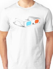 Retro 3D Glasses Unisex T-Shirt
