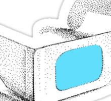Retro 3D Glasses Sticker