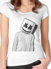 Marsmello - Mellogang Women's Fitted Scoop T-Shirt