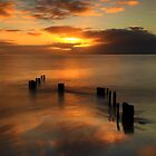 Sunrise at Balnarring Beach. by Jim Worrall