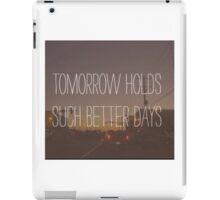 Adams song blink-182 iPad Case/Skin