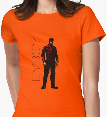 "Carth Onasi ""Flyboy"" Womens Fitted T-Shirt"