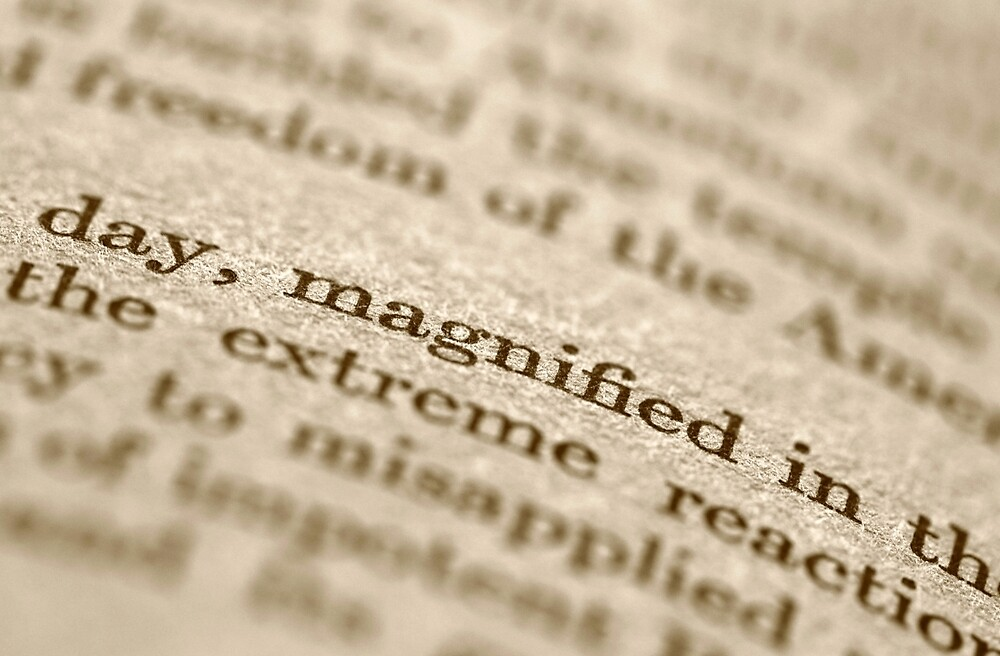 Magnified Coincidence  by Lynn Gedeon
